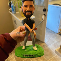 custom golf bobblehead