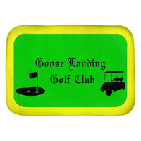 Custom Microfiber Golf Cart Pad