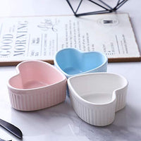 Heart Shaped Ramekin Baking Dishes