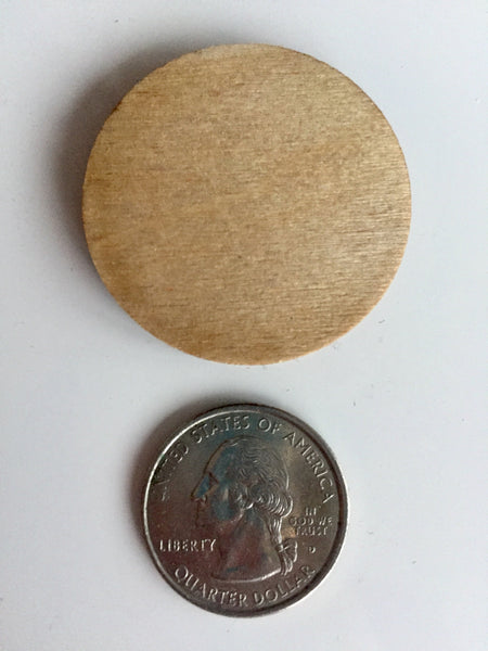 Engraved Wood Custom Coin Flip