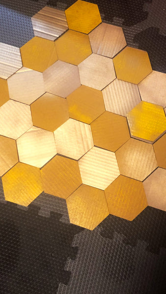 Unfinished Cardboard Hexagons
