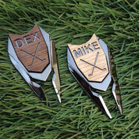 Custom Engraved Golf Ball Divot Tool