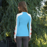 Women's Chicago Flag Rash Guard