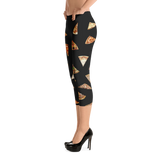 Pizza Capri Leggings