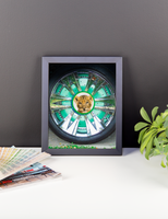 Hub Cap Friend, Framed Poster