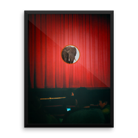 Elephant at the Movies, Framed Poster