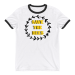 Save The Bees Ringer T-Shirt