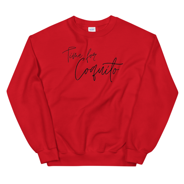 Time for Coquito Unisex Sweatshirt