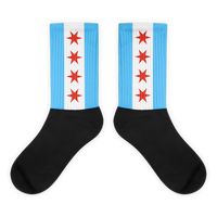 Chicago Flag Tube Socks