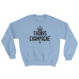 Thanks Champagne Crewneck Sweatshirt