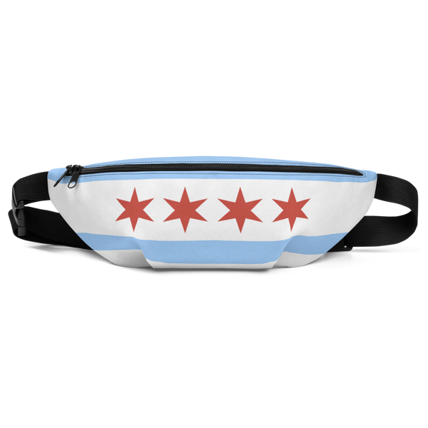 Chicago Flag Fanny Pack