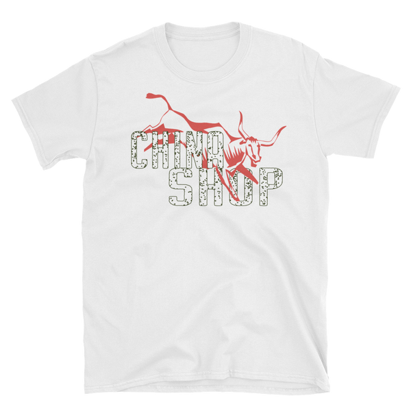 Bull in China Shop Short-Sleeve Unisex T-Shirt