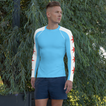 Custom Men's Long Sleeve Rash Guard