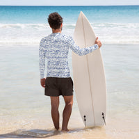 Men's Shibori Rash Guard