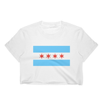 Chicago Flag Crop Top