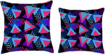 Totally Rad 80s Throw Pillow
