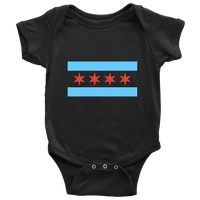 Chicago Flag Infant Onesie