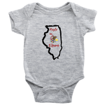 Made in Illinois Infant Onesie