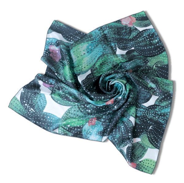 Custom All Over Print 36 x 36 Square Chiffon Scarf