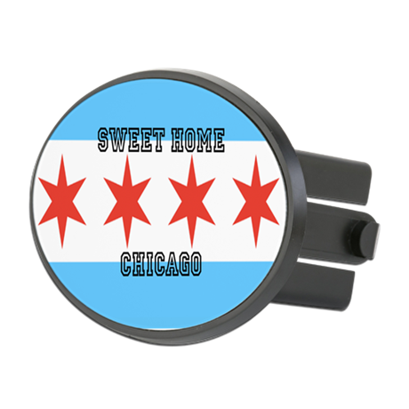 Sweet Home Chicago Trailer Hitch Cover
