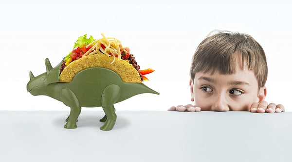 TacoSaurus Dinosaur Nacho, Taco and Food Holders