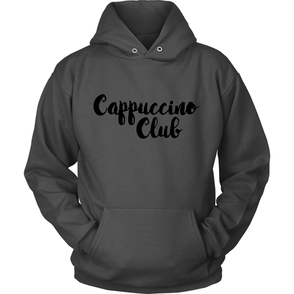 Cappuccino Club Hoodie