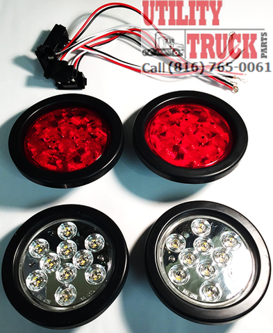 "4"" Inch Round LED & Incandescent Lighting"