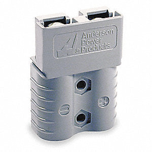Anderson Power Products 1 SB120 Series, Gray Powerpole Connector Housing, 120A - utilitytruckparts