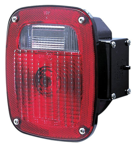Combination Brake Turn & Back Up License Plate Replaceable LED's Universal Driver Side. - utilitytruckparts