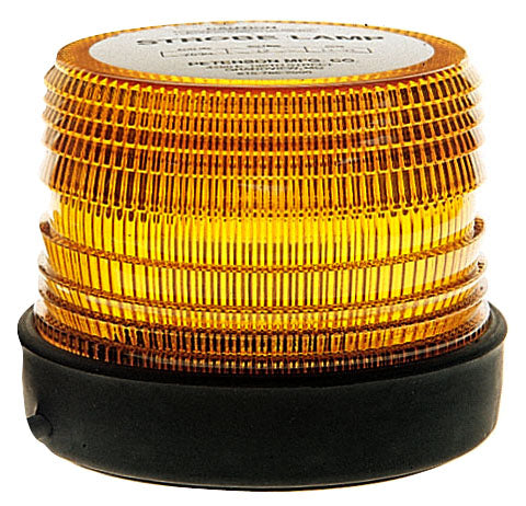Amber LED Strobing Medium Lens Beacon Peterson - utilitytruckparts