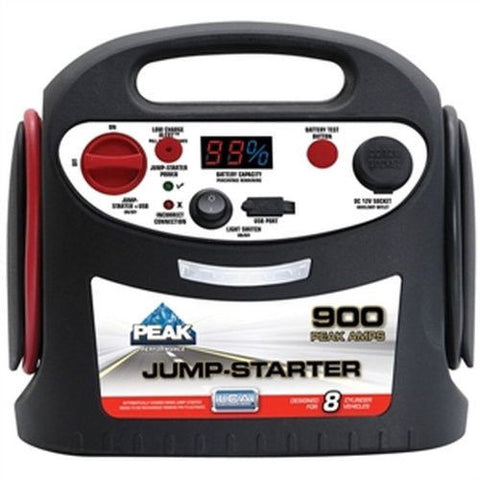 900 Amp Peak Jump Starter with Built in AC charger PKC0AZ-04 - utilitytruckparts