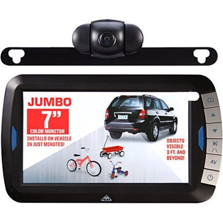 Wireless Back Up Camera kit 7.0 Inches Color Monitor - utilitytruckparts