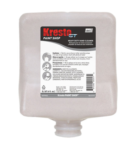 Kresto GT Paint Shop 2L Hand Cleanser Cartridge KGTPS2L - utilitytruckparts