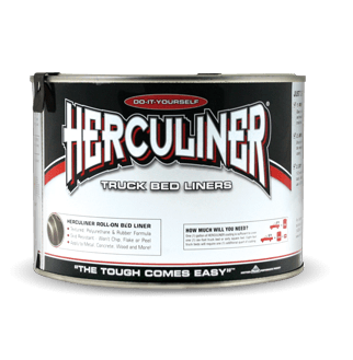 Quart Container Herculiner Roll-On Black Truck Bed Liner HCL0B7 - utilitytruckparts