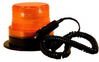 LED Amber Warning Strobe Light Magnet Mount Blazer C48AW - utilitytruckparts
