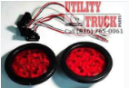 "4"" LED Stop Turn Tail Lights 10 Diode Truck Trailer RV Light - utilitytruckparts"