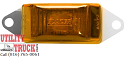 "3-3/16"" Led Amber Side Marker & Clearance Light with Bracket CW1586A - utilitytruckparts"