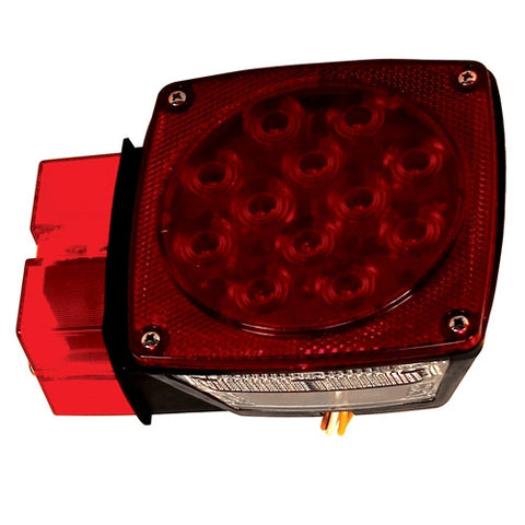 Driver Side LED Combination Trailer Light for Trailers Over and Under 80 Inches Wide - utilitytruckparts