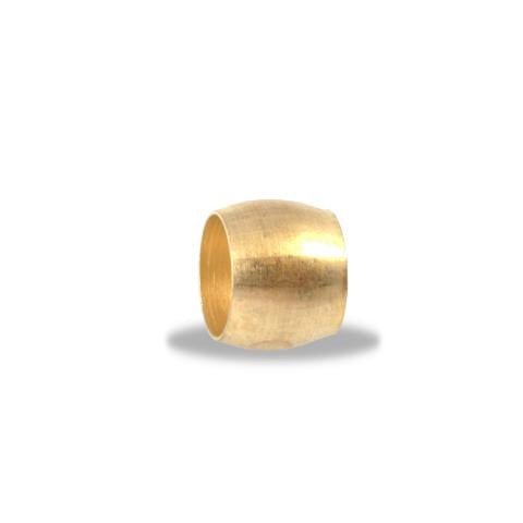 "Air Brake Compression Fitting, Brass 3/4"" Spherical Sleeve Velvac 011009 - utilitytruckparts"