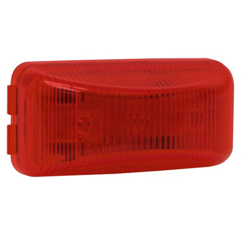 "1"" by 2"" Led Red Side Marker & Clearance Light Blazer 537BR - utilitytruckparts"