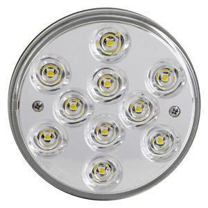 "4"" Round LED Back Up Reverse Light for Truck Bodies & Trailers Blazer 542BC - utilitytruckparts"