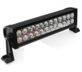 14 inch Cree LED Light Bar 6D Glass Optic Lens Flood Spot Combination - utilitytruckparts