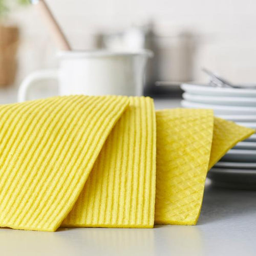 Compostable Cleaning Sponge Cloths - 4 Pack