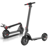 "X7 10"" Electric Scooter - Black."