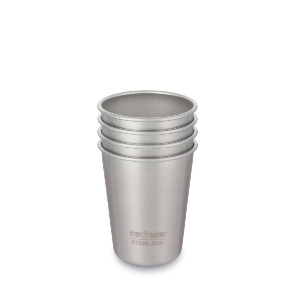 Klean Kanteen 296ml Steel Cup - 4 Pack