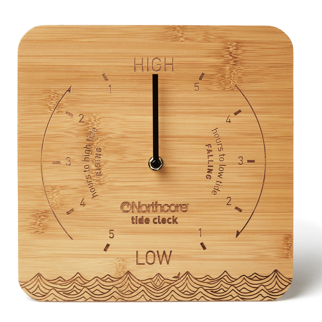 Northcore Wall Mounted Bamboo Tide Clock