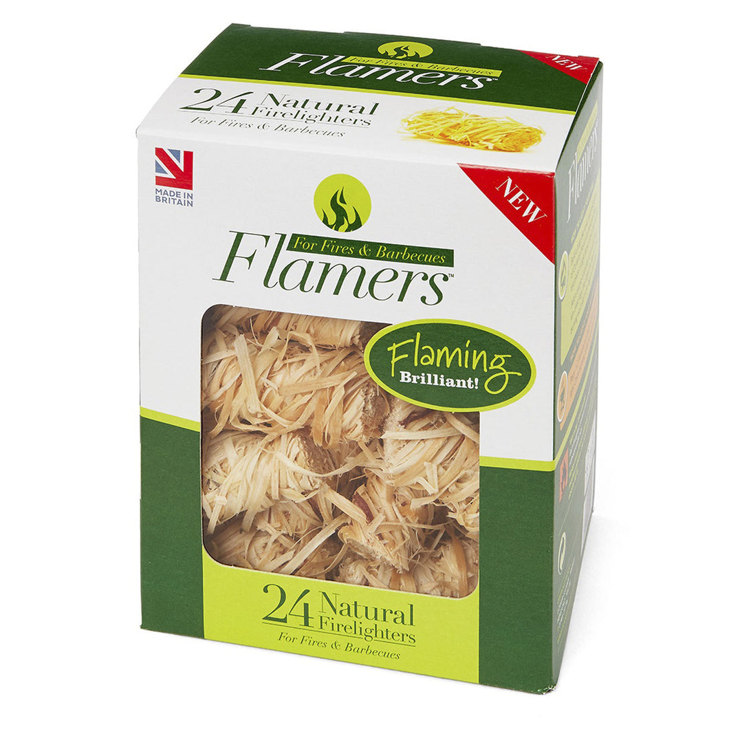 Flamers Firelighters - Pack of 24