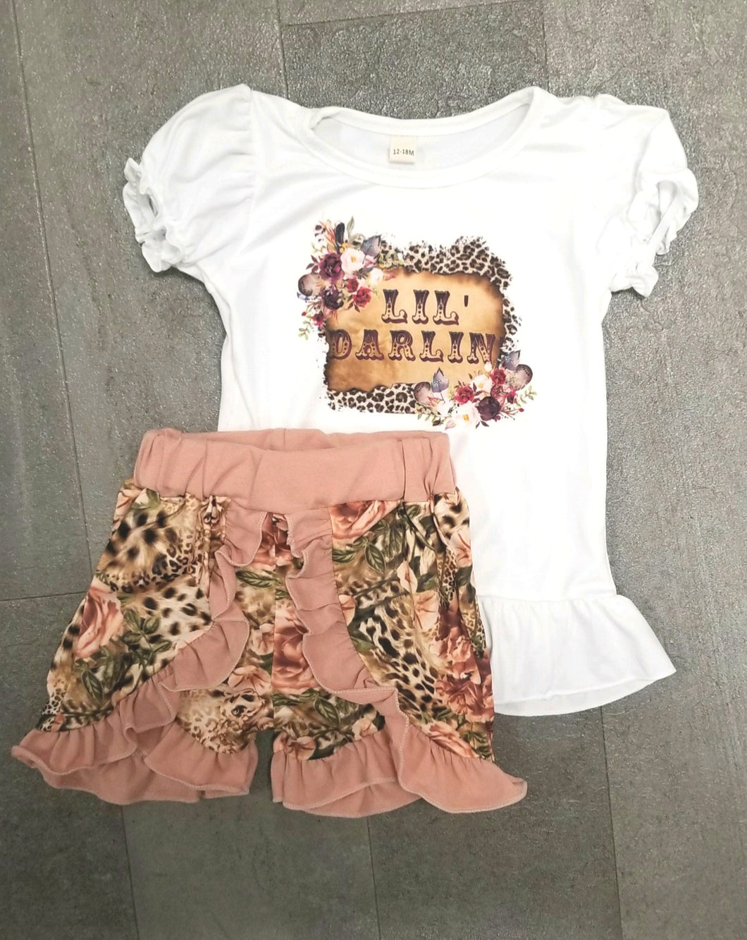 LIL DARLIN SHORTS SET