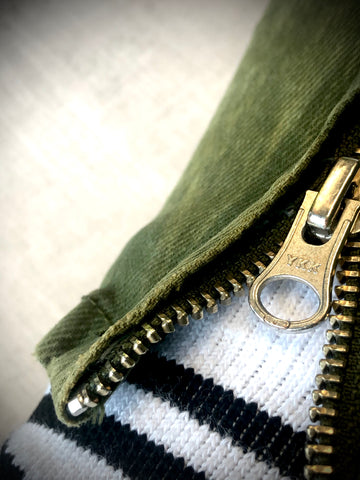 YKK Zippered Inseam