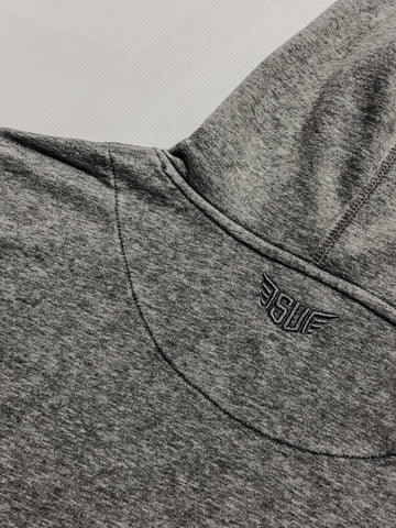 Size up logo with embroidery